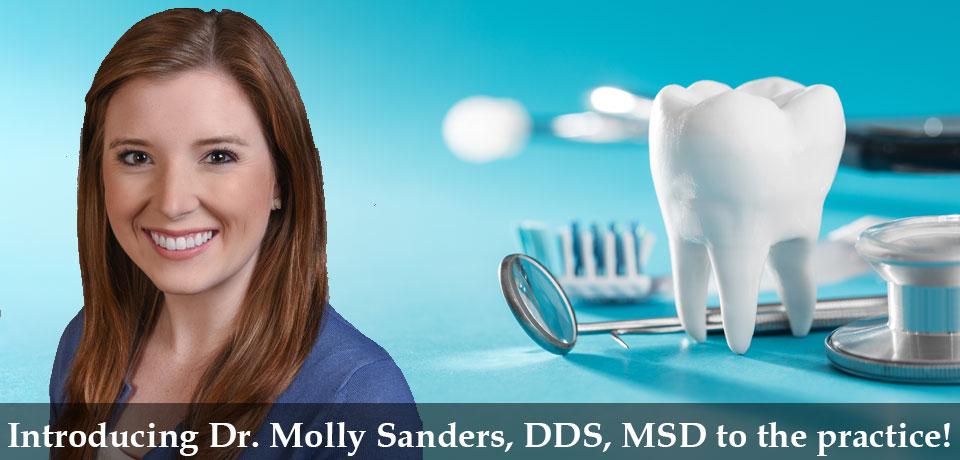 Dr. Molly Sanders, DDS, MSD